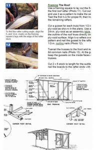 10 x 12 storage shed plans free